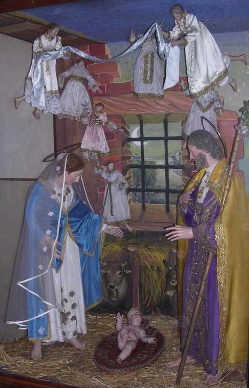 Presepio napoletano chiesa San Nicola a San Severo (FG)