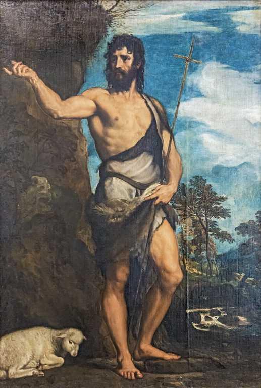 San Giovanni Battista - Tiziano