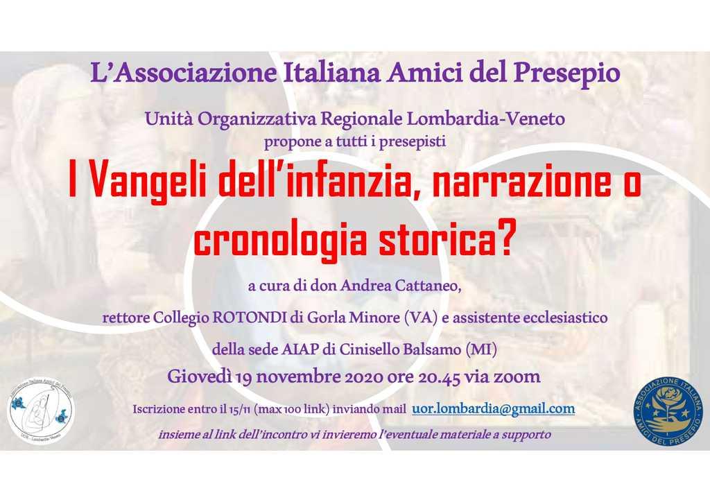Locandina UOR Lombardia - Incontro Don Andrea Cattaneo