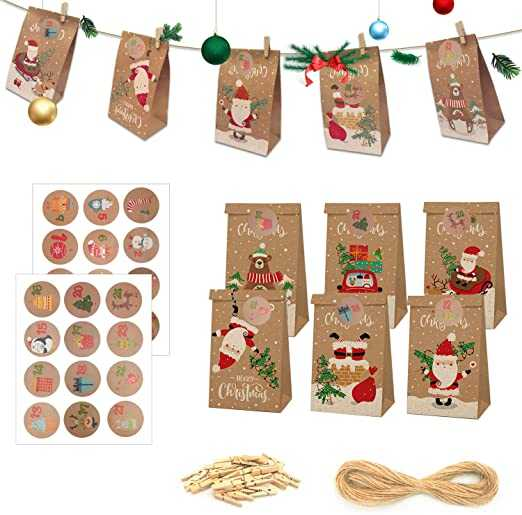 calendario avvento decorazioni natalizie