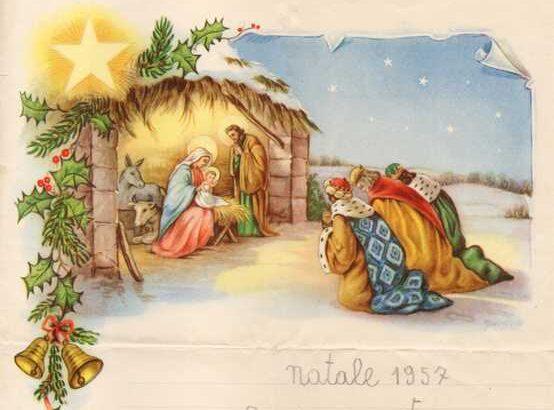 lettera cartolina di Natale