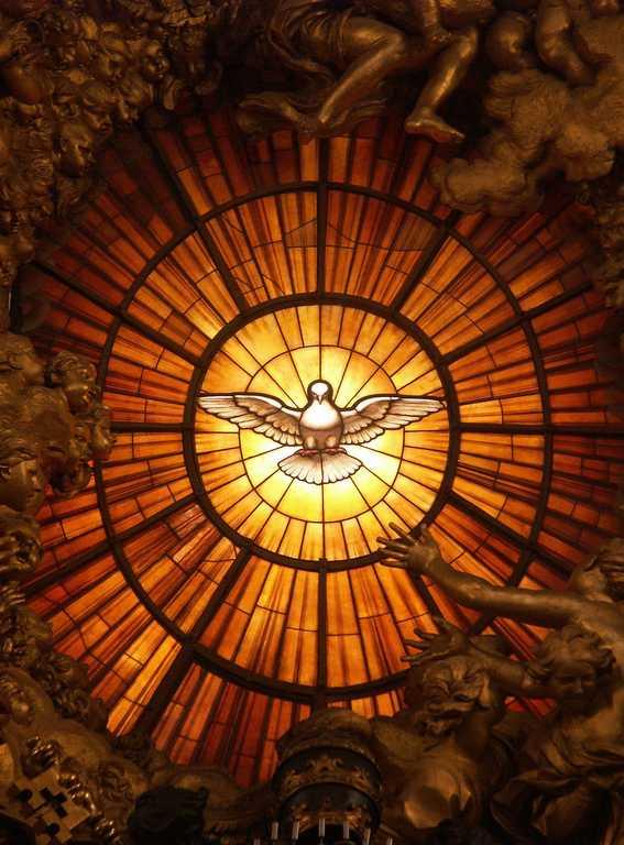 Colomba spirito santo del bernini