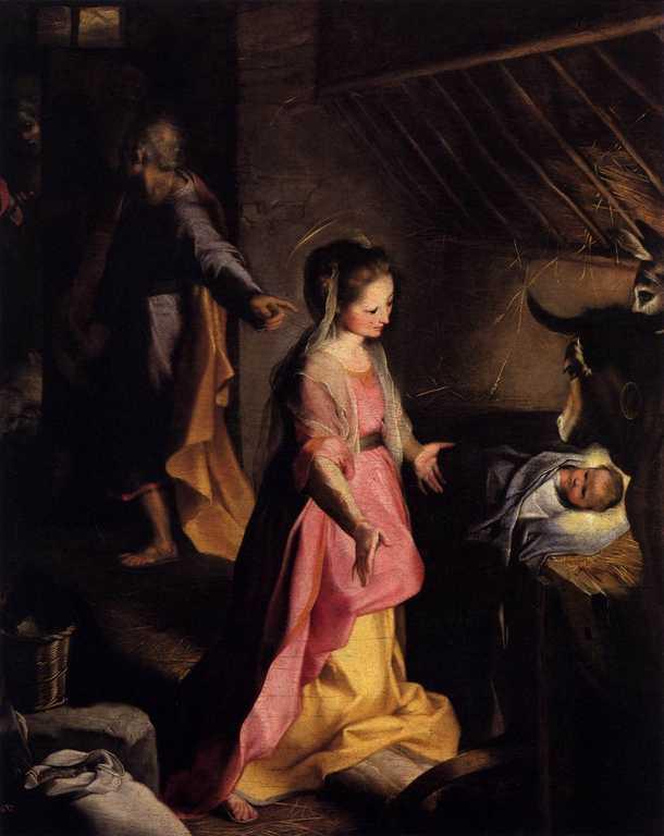 Federico Barocci Natività - Ambrosiana