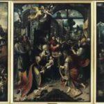 Quando l'Arte può ispirare il Presepio: Trittico dell'Adorazione dei Magi
