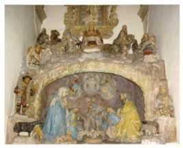 Particolare del Presepio di Stefano da Putignano (XVI sec.) Parrocchia del Carmine Grottaglie (TA)