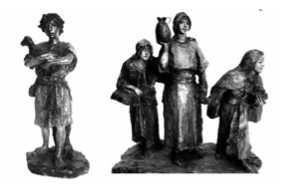Presepe Surdi statue