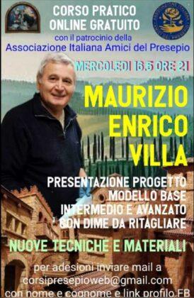 maurizio villa locandina corso online